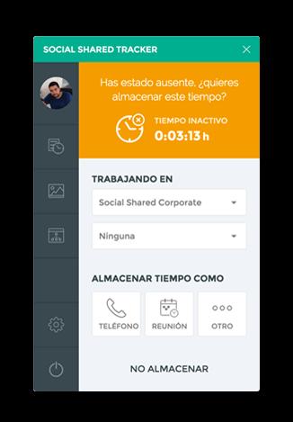 SocialShared Tracker